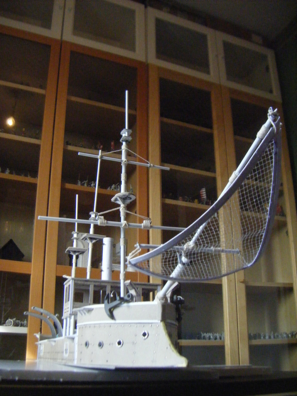 [Marine Coloniale] Grosse canonnière  1850-1920 28mm  Plonge11