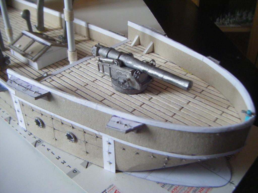 [Marine Coloniale] Grosse canonnière  1850-1920 28mm  Poupe10