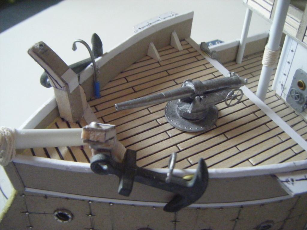 [Marine Coloniale] Grosse canonnière  1850-1920 28mm  Proue10