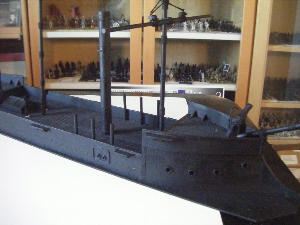 [Marine Coloniale] Grosse canonnière  1850-1920 28mm  Sc210