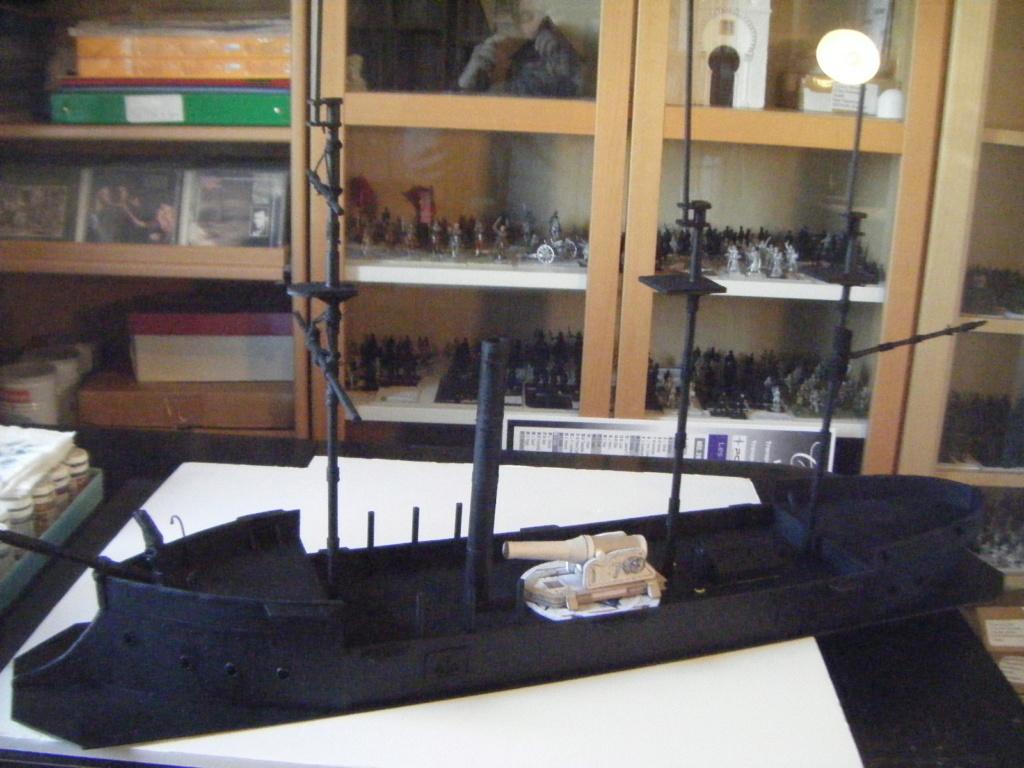 [Marine Coloniale] Grosse canonnière  1850-1920 28mm  Sc__c110