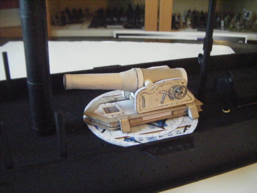 [Marine Coloniale] Grosse canonnière  1850-1920 28mm  Sc__c210