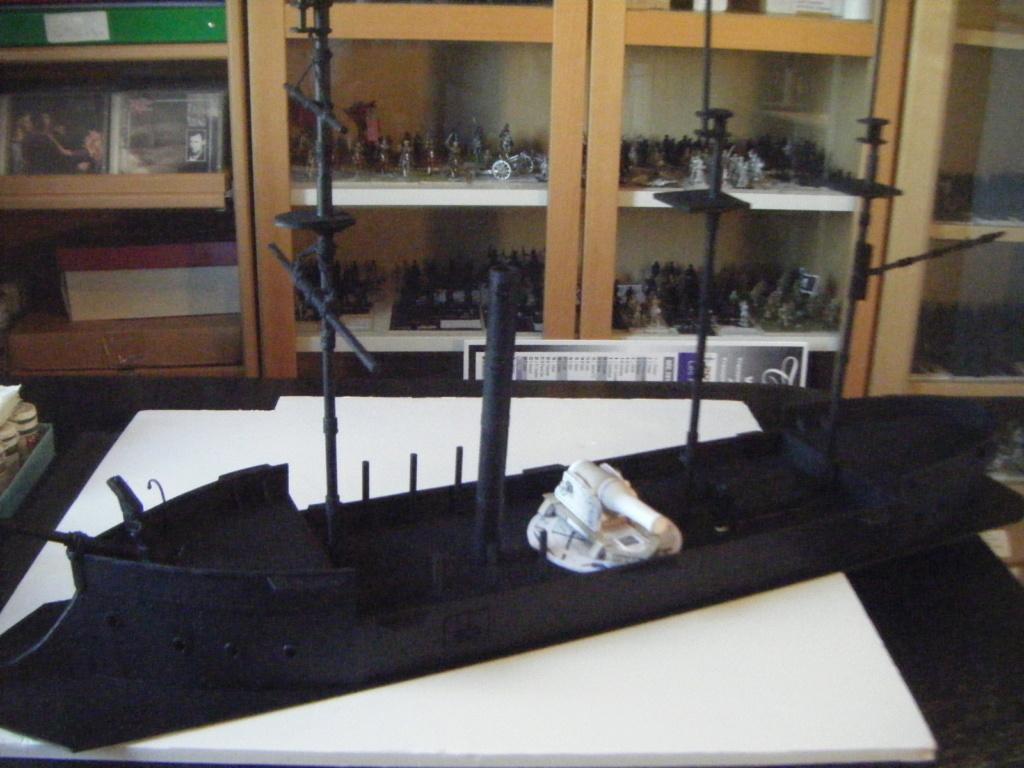 [Marine Coloniale] Grosse canonnière  1850-1920 28mm  Sc__c310