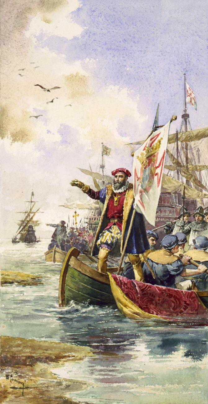 [Les Portugais en Inde 1500] Contexte historique Vascod11