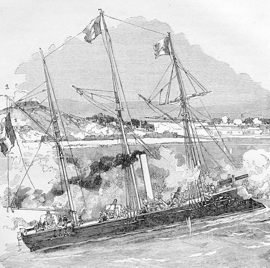 [Marine Coloniale] Grosse canonnière  1850-1920 28mm  Vipere10