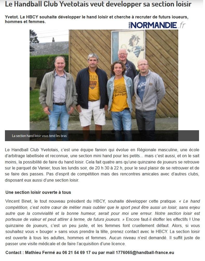 Yvetot HBC - Page 4 Sans_t24