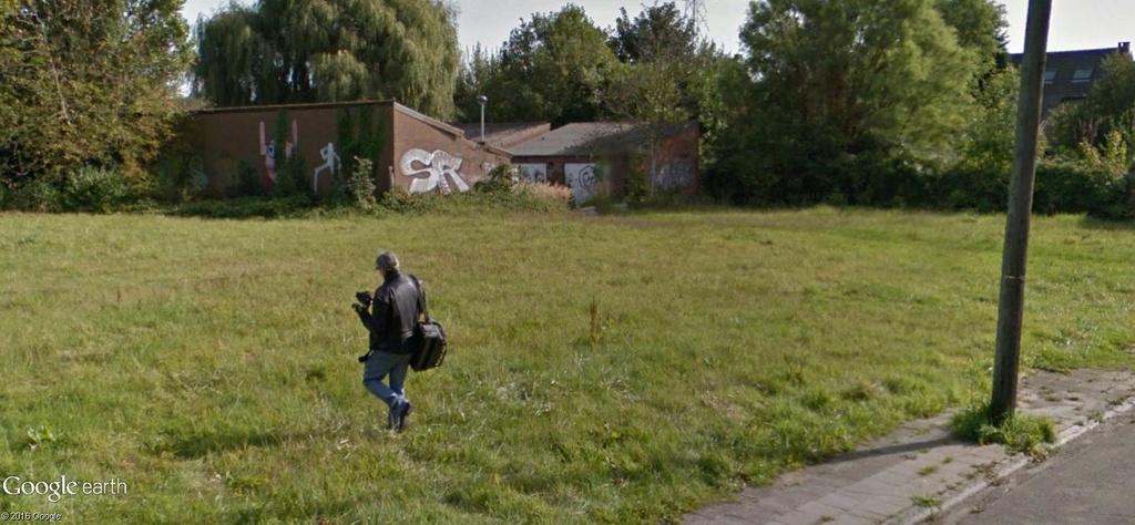 Les étranges graffitis d'un village fantôme. Doel en Belgique Foto11