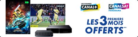 Canal+ et CanalSat offerts pendant 3 mois chez  Bouygues Telecom  14745210