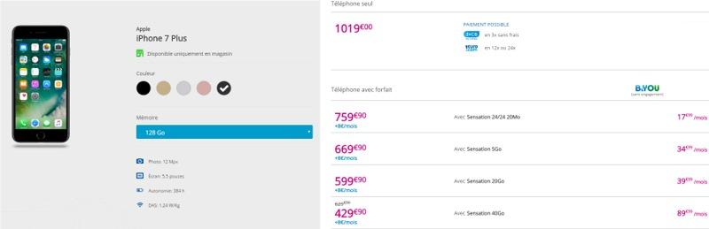 L'iPhone 7 à partir de 199,90€ en renouvellement chez Bouygues Telecom Iph7pl11