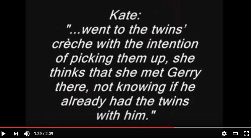 """What's the evidence that Madeleine died on Sunday 29 April?"" Kate_t10"