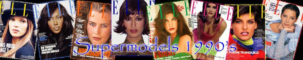 Supermodels 1990's