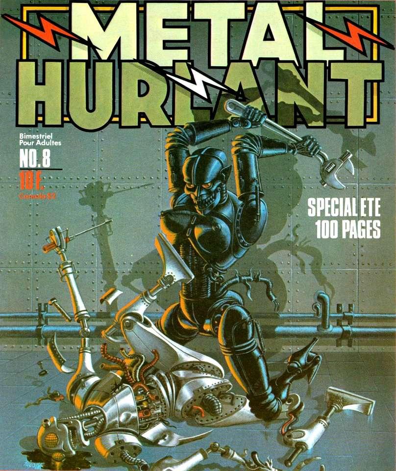 BD: Métal Hurlant (revue) 41423110
