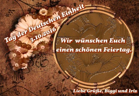Zum Tag der Deutschen Einheit 14398110