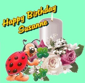 Happy birthday susanne2600 Cats14