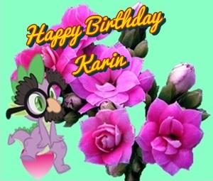 Happy Birthday Karin.logo Cats15