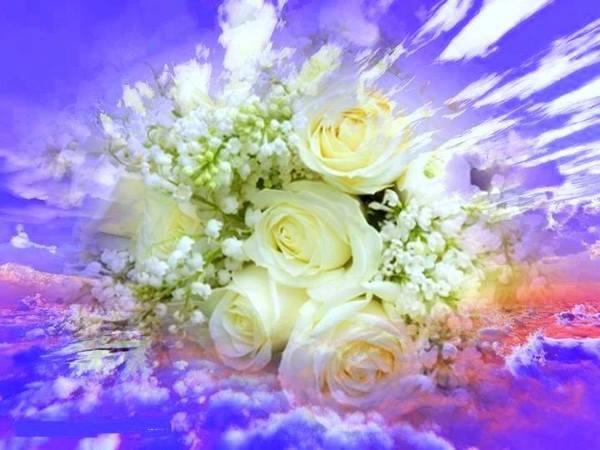 La vie éternelle consiste, sur la terre déjà, à vivre et à agir selon Dieu. _1255210