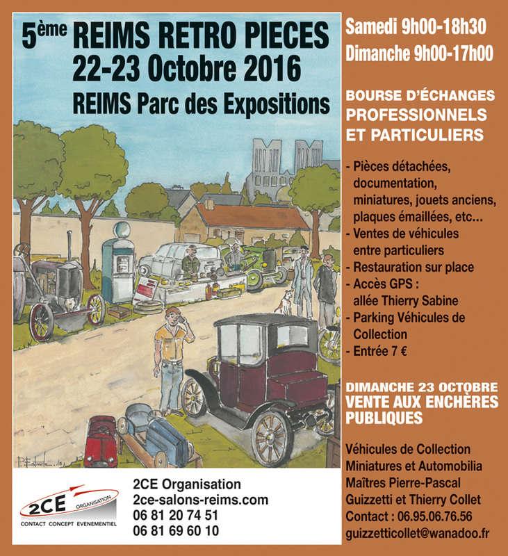 REIMS Rétro pièces 2ce-1710