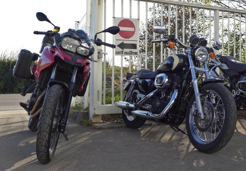 Une Harley avec la GS c'est possible ?  - Page 2 P1010848