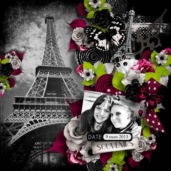 Souvenirs de Paris Agness11