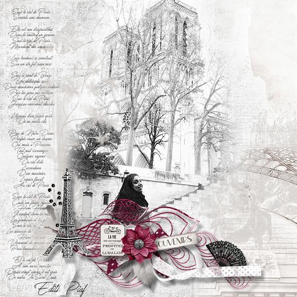 Souvenirs de Paris Julie10