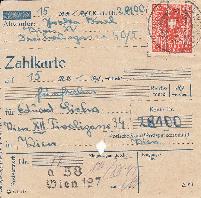 Wappenzeichnung  -  ANK 714-736 - Belege - Seite 3 Img37