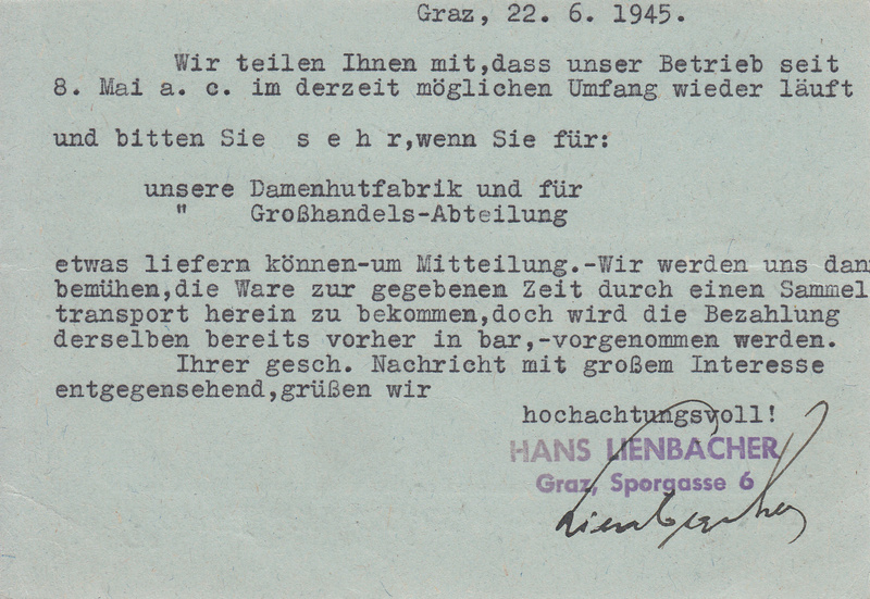 Grazer Aushilfsausgabe Mai 1945 Img50