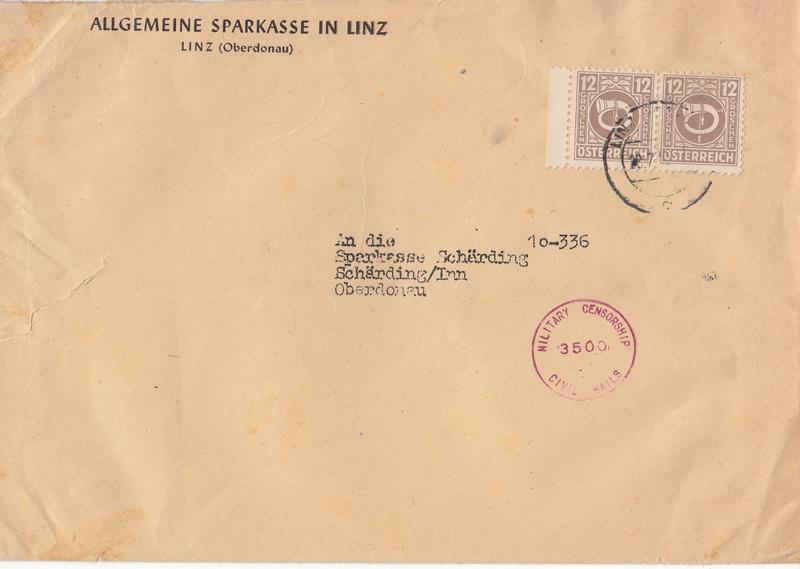 Briefe / Poststücke österreichischer Banken - Seite 3 Img52
