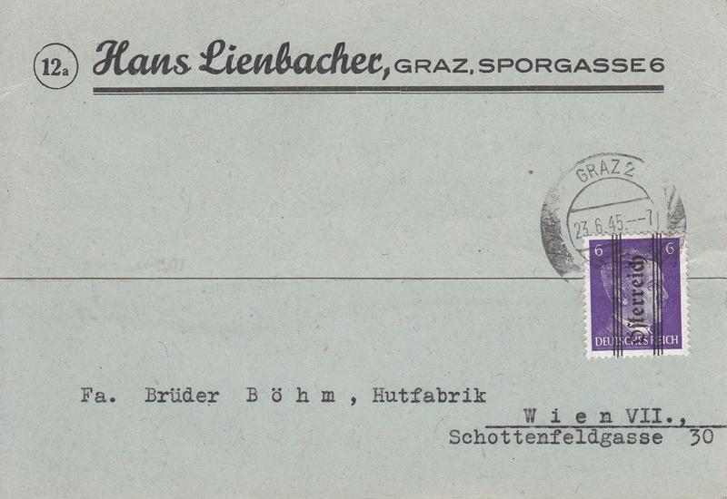 1945 - Grazer Aushilfsausgabe Mai 1945 Img_0046