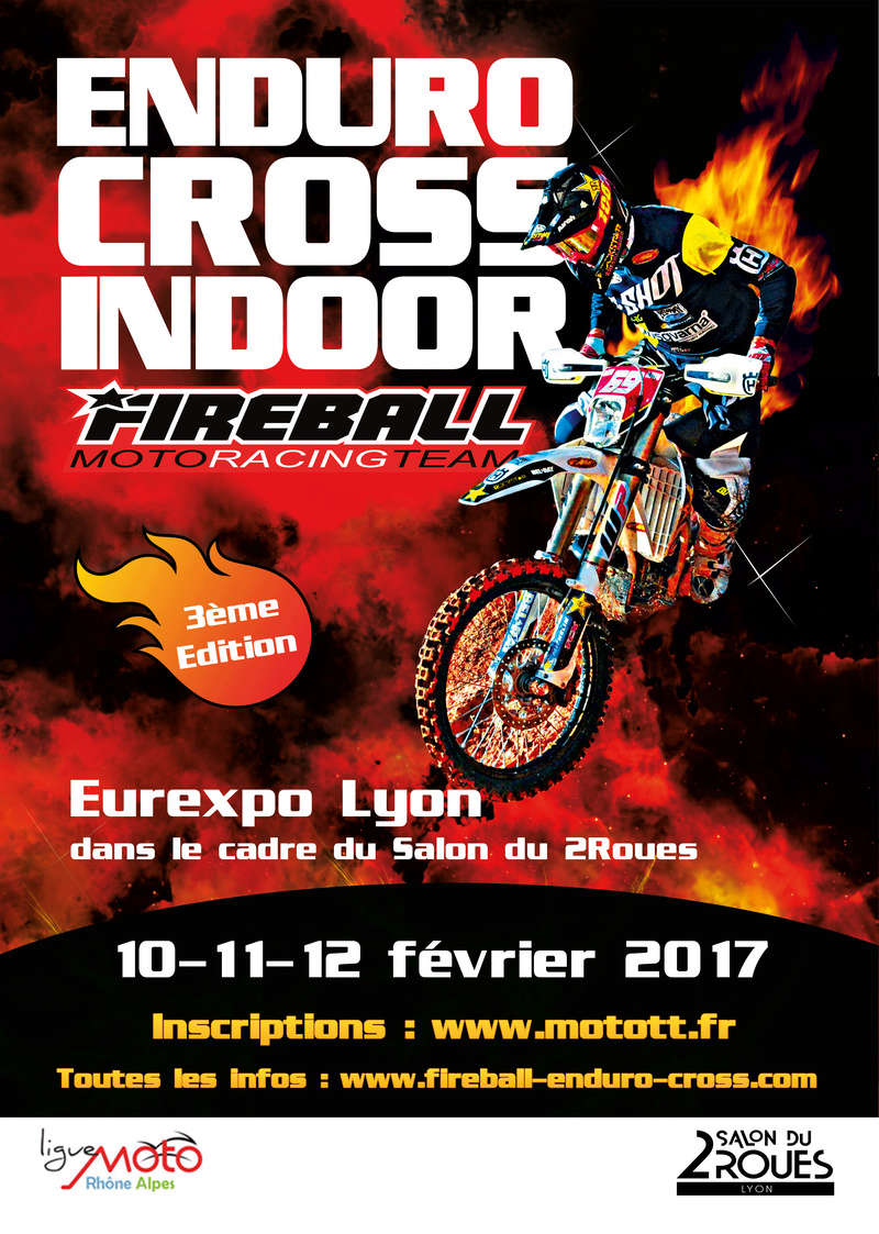 ENDURO-CROSS FIREBALL INDOOR 2017