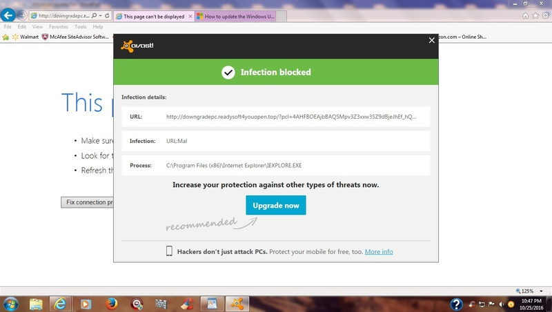 Java Runtime Update offered Bad_bu10