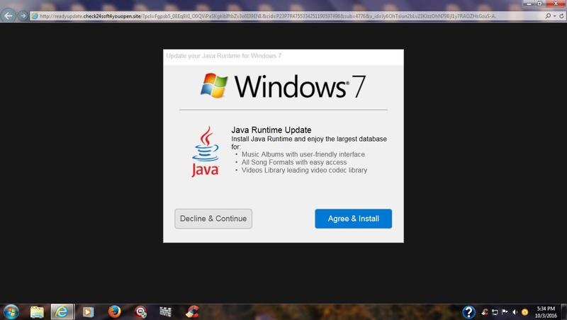 Java Runtime Update offered Java_u10