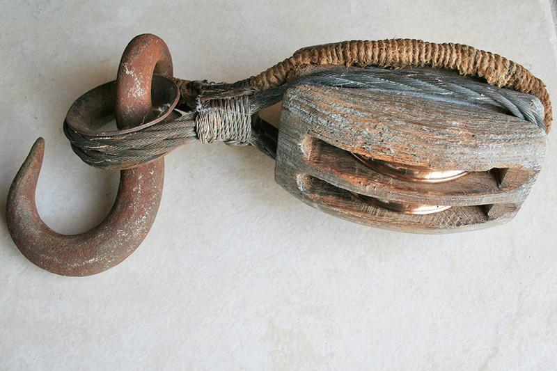 Fabrication d'une poulie en bois 290_co10