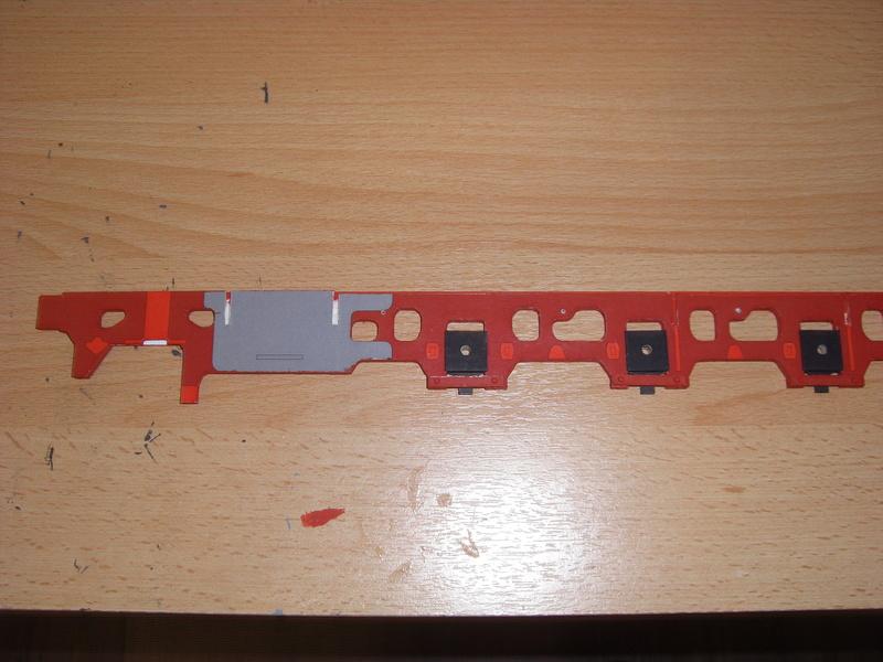 Fertig - Lokomotive HCP 1-6-2 Bulgar Modelik 1:25 von Lothar 00112