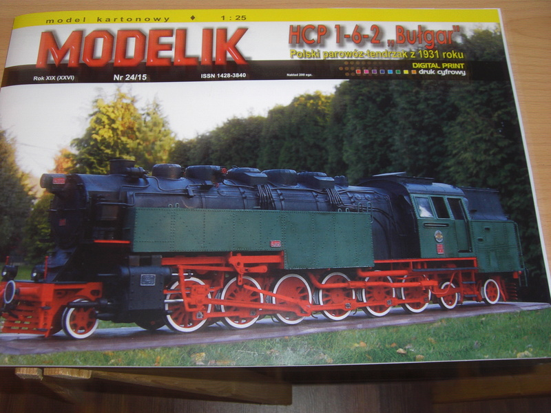 Fertig - Lokomotive HCP 1-6-2 Bulgar Modelik 1:25 von Lothar 001a10