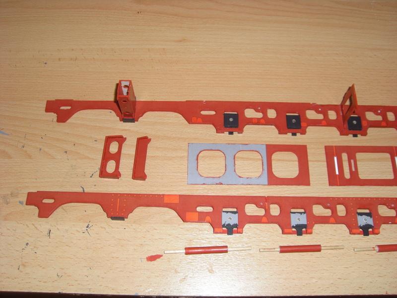 Fertig - Lokomotive HCP 1-6-2 Bulgar Modelik 1:25 von Lothar 00610