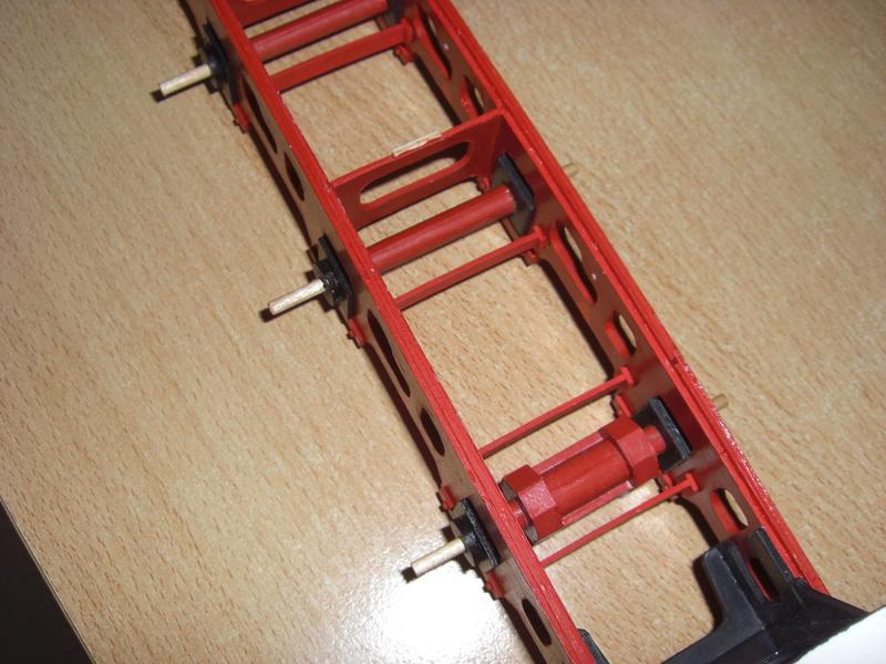 Fertig - Lokomotive HCP 1-6-2 Bulgar Modelik 1:25 von Lothar 01010