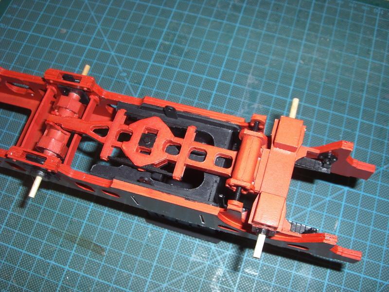 Fertig - Lokomotive HCP 1-6-2 Bulgar Modelik 1:25 von Lothar 01710