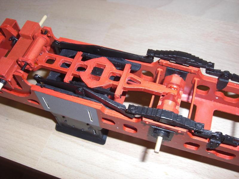 Fertig - Lokomotive HCP 1-6-2 Bulgar Modelik 1:25 von Lothar 02211