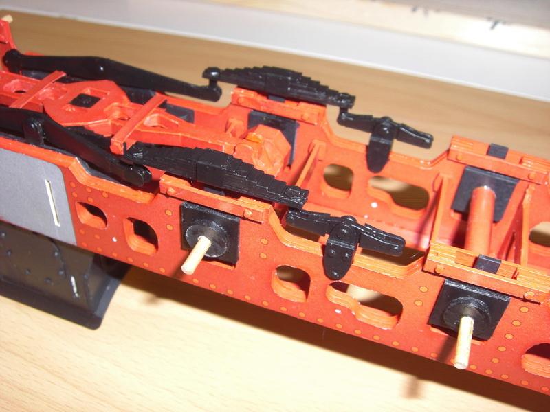 Fertig - Lokomotive HCP 1-6-2 Bulgar Modelik 1:25 von Lothar 02510