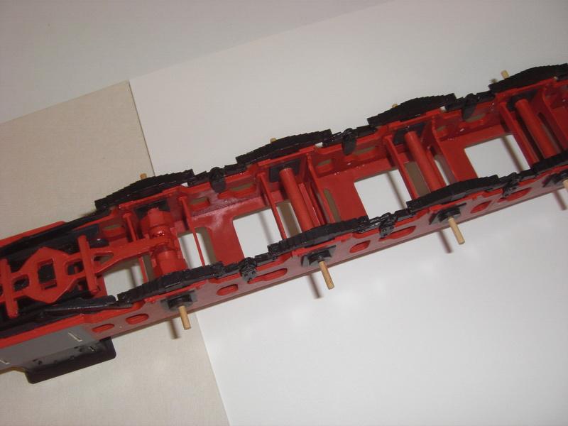 Fertig - Lokomotive HCP 1-6-2 Bulgar Modelik 1:25 von Lothar 02710
