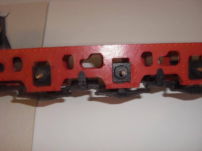 Fertig - Lokomotive HCP 1-6-2 Bulgar Modelik 1:25 von Lothar 02910