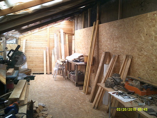 Agrandissement atelier du BISON ROUGE. Dscf0013