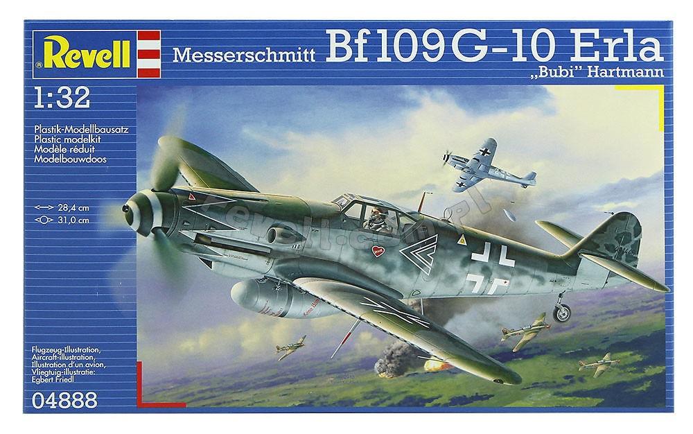 Messerschmitt Bf109G-10 [Revell 1/32] Boxart10