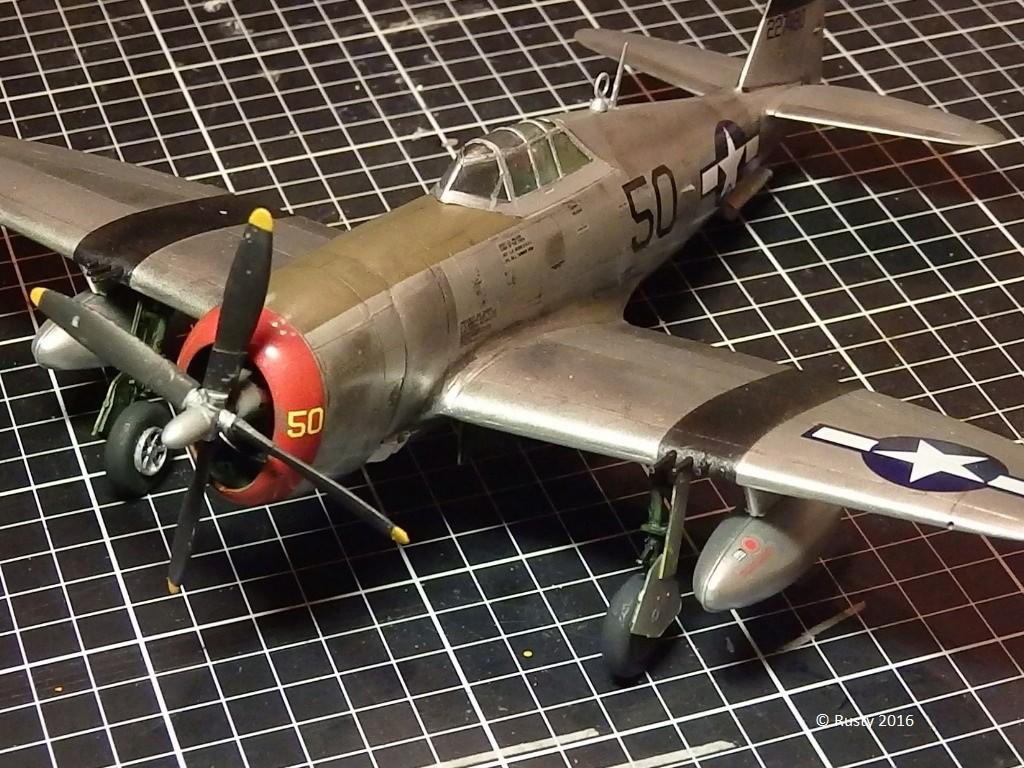 P-47D Thunderbolt  80th Fighter Group [ARII 1/48] P1010036