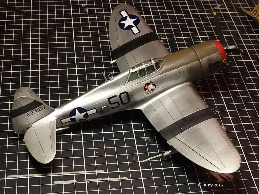 P-47D Thunderbolt  80th Fighter Group [ARII 1/48] P1010037