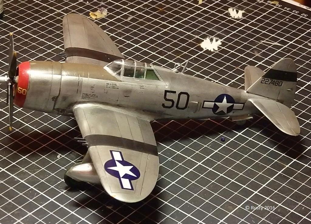 P-47D Thunderbolt  80th Fighter Group [ARII 1/48] P1010038