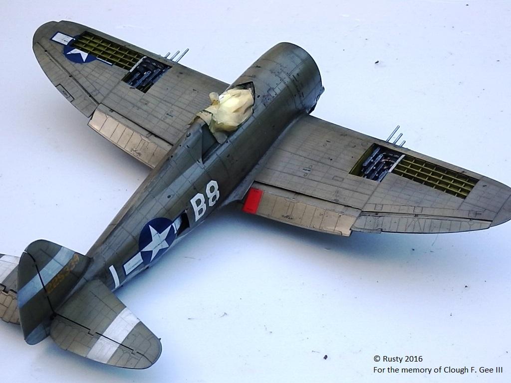 P-47D Thunderbolt : un avion, un pilote, un destin.  (Redux models 1/32) - Page 2 P1010045
