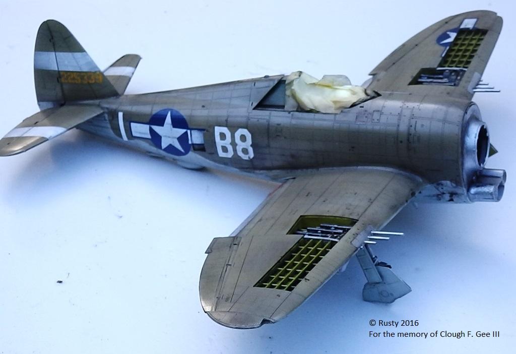 P-47D Thunderbolt : un avion, un pilote, un destin.  (Redux models 1/32) - Page 2 P1010046