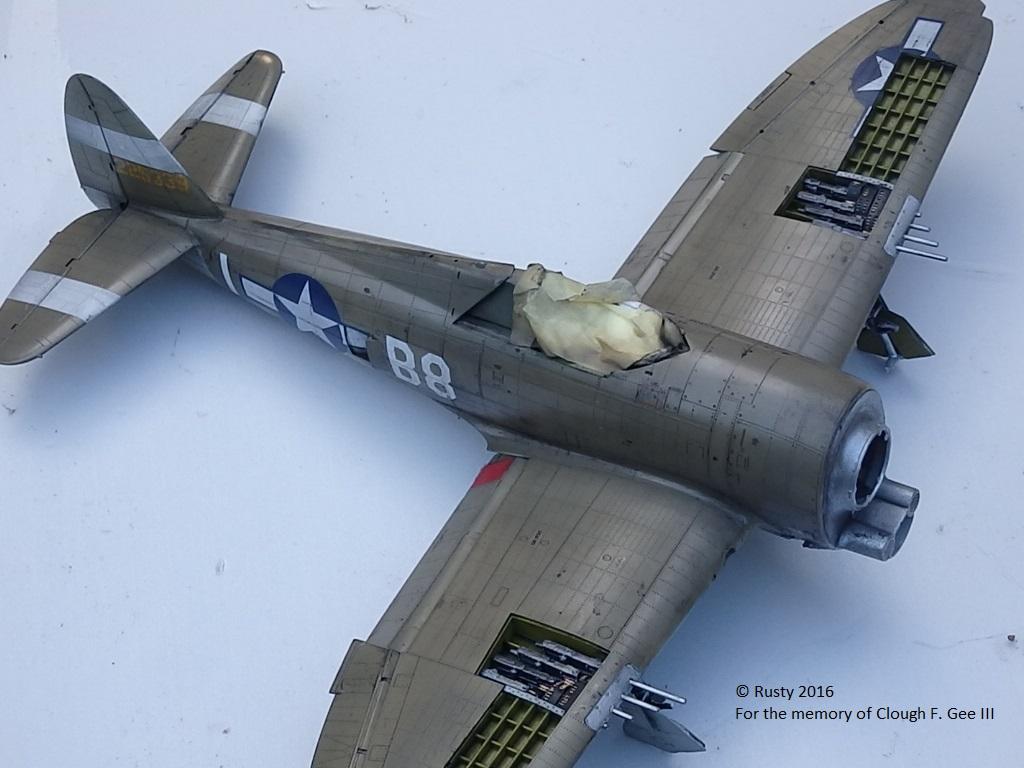 P-47D Thunderbolt : un avion, un pilote, un destin.  (Redux models 1/32) - Page 2 P1010048
