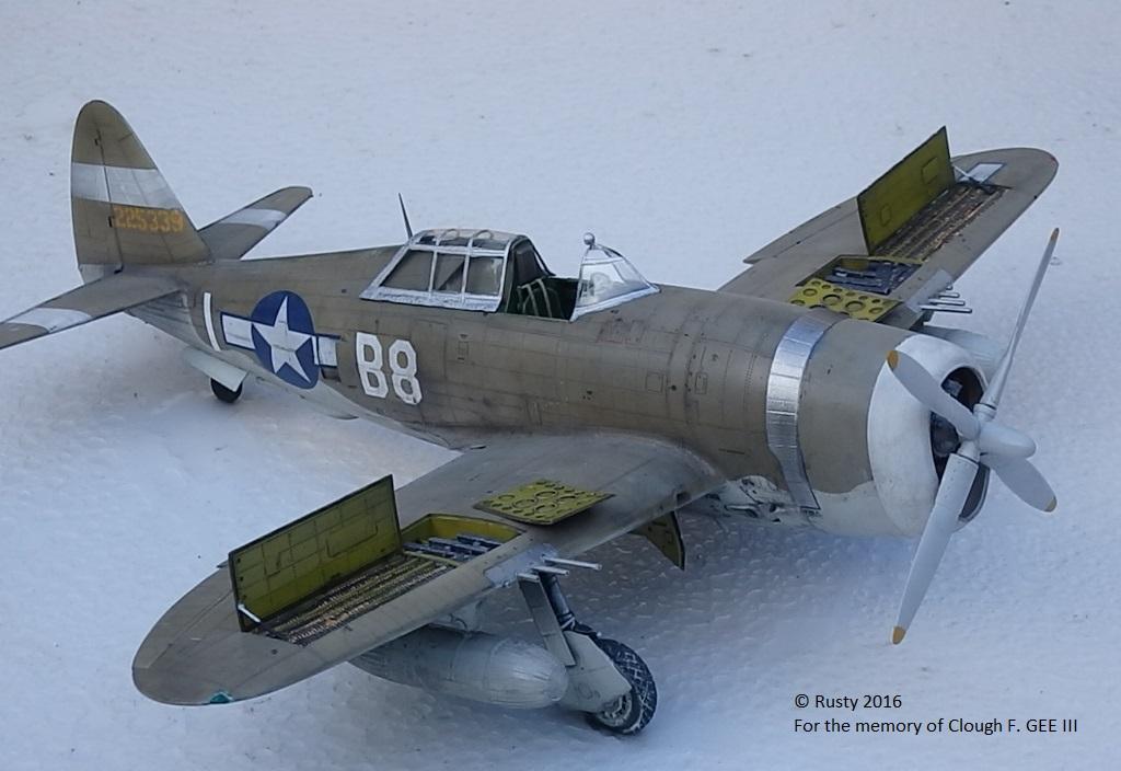 P-47D Thunderbolt : un avion, un pilote, un destin.  (Redux models 1/32) - Page 3 P1010049